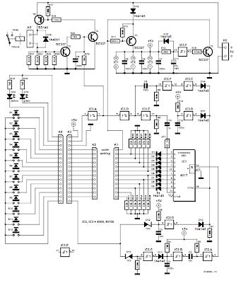 NTE Electronics Circuit: Electronic Code Lock